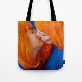 kiss (on being single) Tote Bag