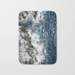 Skagerrak Coastline - Aerial Photography Bath Mat