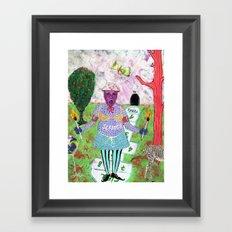 Secret Place V Framed Art Print
