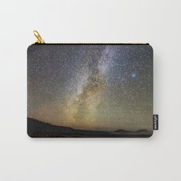Grand Prismatic Spring Under The Milky Way Carry-All Pouch