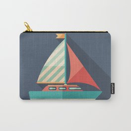 Sailing Yacht Carry-All Pouch