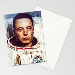 Elon Musk Stationery Cards