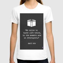 Anais Nin quote T-shirt