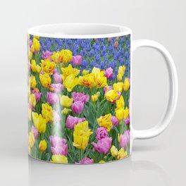 Muscari and tulips Coffee Mug