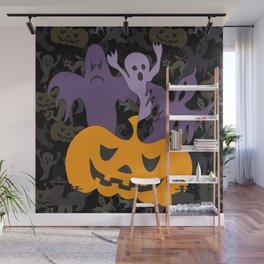 Halloween poster Wall Mural