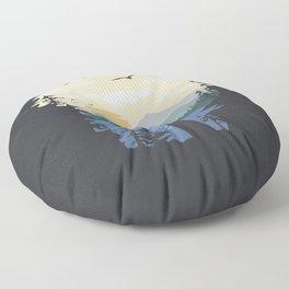 Mountain Lion Wilderness Floor Pillow