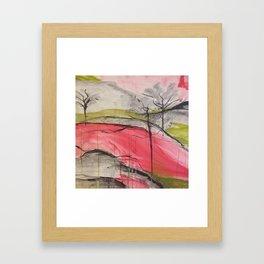 Color of Japan. Original Painting by Jodilynpaintings. Abstract Artwork. Framed Art Print