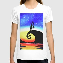 Jack And Sally Starry Night T-shirt