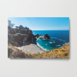 McWay Falls, Big Sur, California Metal Print