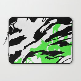 Green and Black Laptop Sleeve
