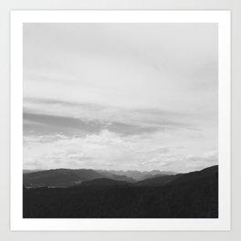 Sky Ocean Art Print