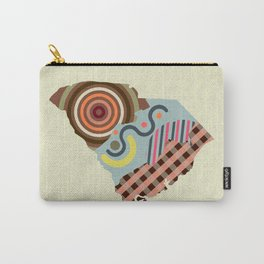 South Carolina State Map Carry-All Pouch