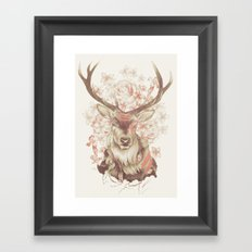 Stag of my Dreams Framed Art Print