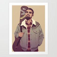 80/90s - K. Dr Art Print