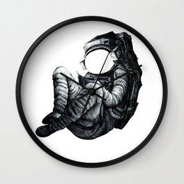 Life of an Astronaut Print Wall Clock