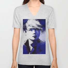 Detroit Become Human: Kara Unisex V-Neck