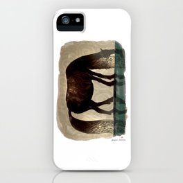 Horse (Kelpie) iPhone Case