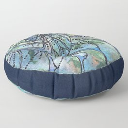Dreaming Shell Floor Pillow