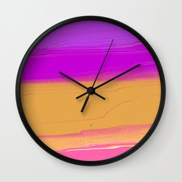 HEALTHY POUR Wall Clock