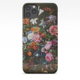 Vase of Flowers II Jan Davidsz de Heem iPhone Case