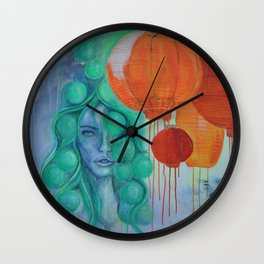 NIGHTMARKET Wall Clock