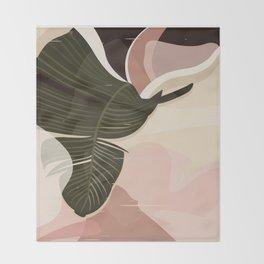 Nomade I. Illustration Throw Blanket