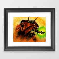 Hellspawn Framed Art Print