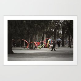 Wind Machine Art Print