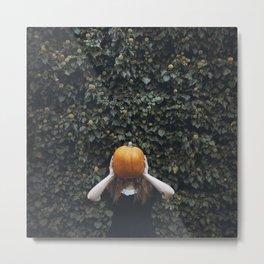 """pumpkin season"" Metal Print"