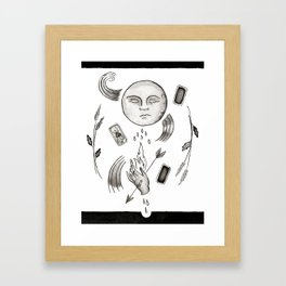 Bad Magic Framed Art Print