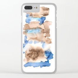 Frozen Summer Series 38 Clear iPhone Case