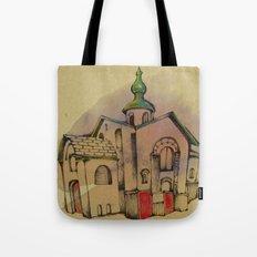 Russian church Tote Bag