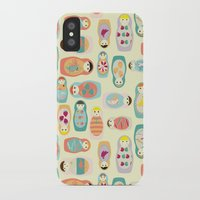russia iPhone & iPod Cases featuring Russia by lapenche