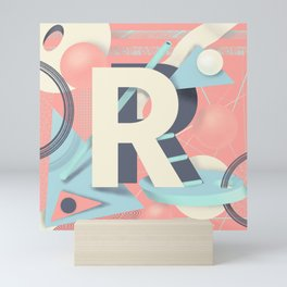 Letter R Mini Art Print