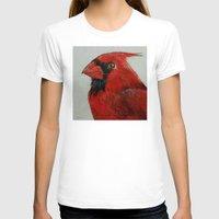 cardinal T-shirts featuring Cardinal by Michael Creese