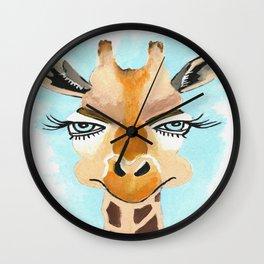 The Flirt Wall Clock