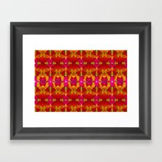 Like flowers and butterflies Framed Art Print