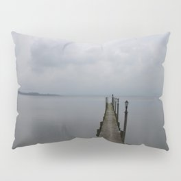 Lake Chiemsee In A Mist Pillow Sham