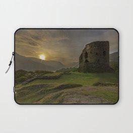 Dolbadarn Castle Sunrise Laptop Sleeve