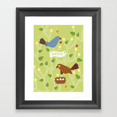 4 Seasons - Spring Framed Art Print