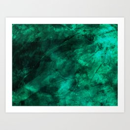 MALACHITE 1 Art Print