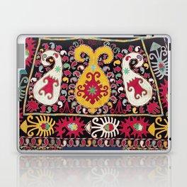 Lakai Tribal Nomad Antique Uzbekistan Horse Cover Print Laptop & iPad Skin