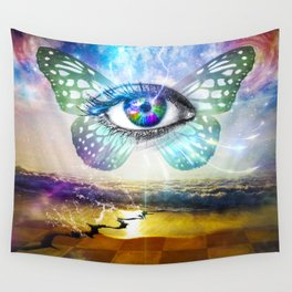 Eye Mind Wall Tapestry