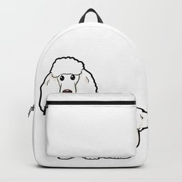 Poodle Dog funny happy cute Puppy love Owner gift Backpack