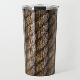 Tight round rope pattern Travel Mug