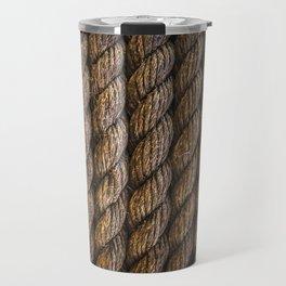Tight round rope pattern Travel Mug