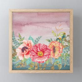 Flowers bouquet 74 Framed Mini Art Print