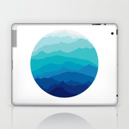 Blue Mist Mountains Laptop & iPad Skin