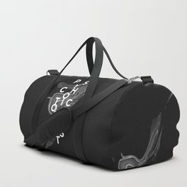 psychotic optimist Duffle Bag