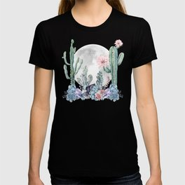 Desert Nights Gemstone Oasis Moon T-shirt